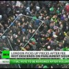 Violent Protesters Hijack London Tuition Fee Protests