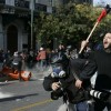 Riots In Greece Over Cuts In Government Spending