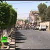 Machine Gun Fire and Flying Stones as Protesters Clash In Yemen