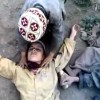 Pakistan Children Playing Suicide Bomber Video