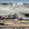 Passenger Train Swept Away By 33 Foot Tsunami Wave In Japan