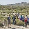 Armed rangers give guided tours of scenic desert park near U.S. border