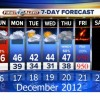 Chance of severe weather on 12/21/12