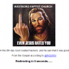Hacker seizes Westboro Baptist Church web page blaming tornado on Oklahoma sin