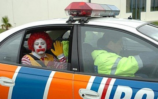Ronald McDonald, It Has Been Fun, But You Have To Be Destroyed