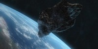 Near Miss, Asteroids Shoot Between Earth and Moon