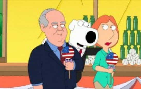 Rush Limbaugh Appears On Family Guy, Brian Still Liberal