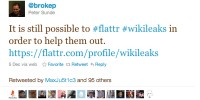 Wikileaks Still Getting Donations From Paypal Through Pirate Bay Startup Flattr