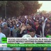 Libya's Gadhafi Orders Air Strikes On Protesters, Hundreds Dead