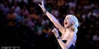 Christina Aguilera Forgets Words to National Anthem At Super Bowl, Oops