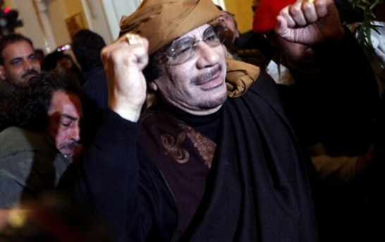 Libya's Gaddafi Says Passenger Airliners Will Be Shot Down Over Mediterranean