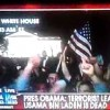 Video of Huge Crowd Gathered Outside White House Celebrating Osama bin Laden's Death