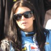 Race car driver Danica Patrick wrecks her car in qualifying race for Daytona 500