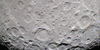 Strange star shaped object inside crater on Moon in new Nasa Photo