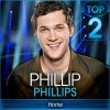 American Idol winner Phillip Phillips cries on stage