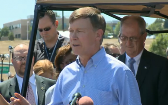 Colorado Governor says Aurora is safe and that Dark Knight shooting will not change freedom to carry a gun