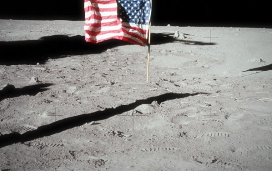 Flag to be flown at half staff on the moon for Neil Armstrong