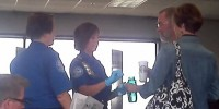 "Woman detained by TSA for ""bad attitude"" after guzzling down bottle of water misses flight"