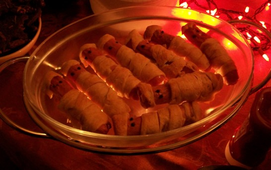 Some good Halloween food recipes from Mrs AVGN