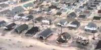 Video of devastation of Jersey Shore after Hurricane Sandy