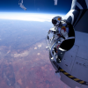 Man tempts death in longest skydive ever above Earth