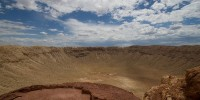 Deranged man rescued after jumping into Meteor Crater mine shaft