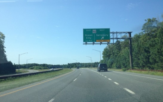Memorial Day Weekend traffic light and trouble free going to the beaches