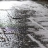 Icy Slick Roads around Baltimore Area for Morning Rush Hour