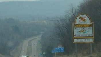 Newly Elected Maryland Governor Larry Hogan's  Name Now On All Highway Signs Across Maryland
