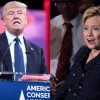 Trump and Clinton in a dark debate about the future of the U.S.