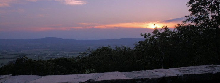 Gambrill State Park Sunset