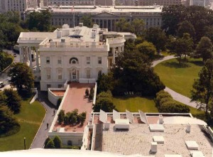 Solar Panels on the White House roof in 1980