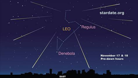 Head out and see the Leonid meteor shower!