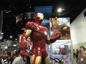 Attendees at 2009 Comic Con got to see Iron Man
