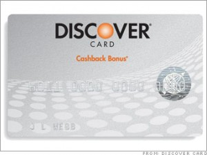 Save some money this holiday season with the 5% cashback Discover card.