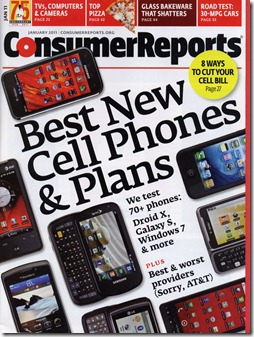 Consumer Reports, a trusted source for getting the best deals in electronics.