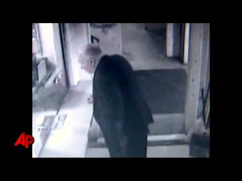 John Wheeler footage video acting strangely.
