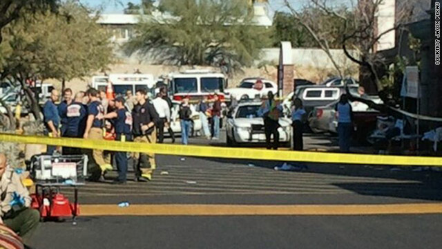 Authorities in Arizona now say the crime scene investigation in the Loughner shooting is now complete.