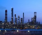 Oil refineries in Libya have bee shut down as civil unrest continues and protesters are killed.