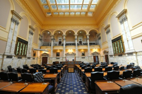 The Maryland House of Delegates, where lawmakers will decide to legalize gay marriage in Maryland.