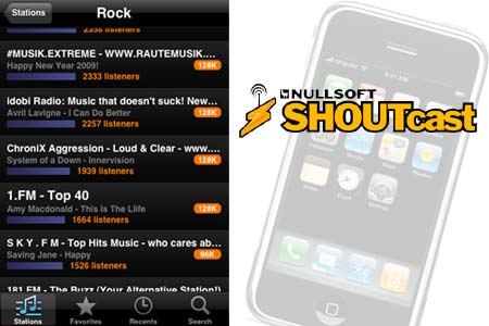 shoutcast-iphone-application