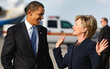 Obama bested Clinton in the 2008 elections, and then promoted her to Secretary of State.