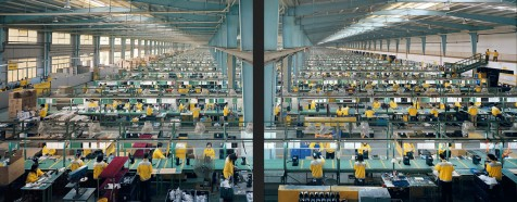 Chinese manufacturing continues to reign supreme in the world economy.  Chinese currency manipulation has allowed China to take advantage of cheap labor and manufacturing.