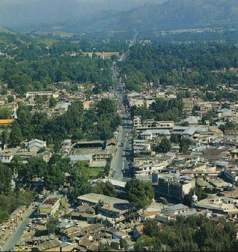 Abbottabad, Pakistan, the location where Osama bin Laden was shot and killed by U.S. armed forces.
