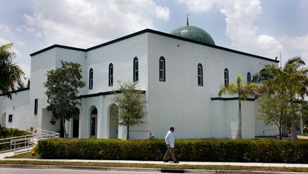 The Jamat Al-Mummineen Mosque in Margate, Florida, where imam Izhar Khan has been charged with providing about $50,000 in financial support to the Pakistani Taliban. (AP)