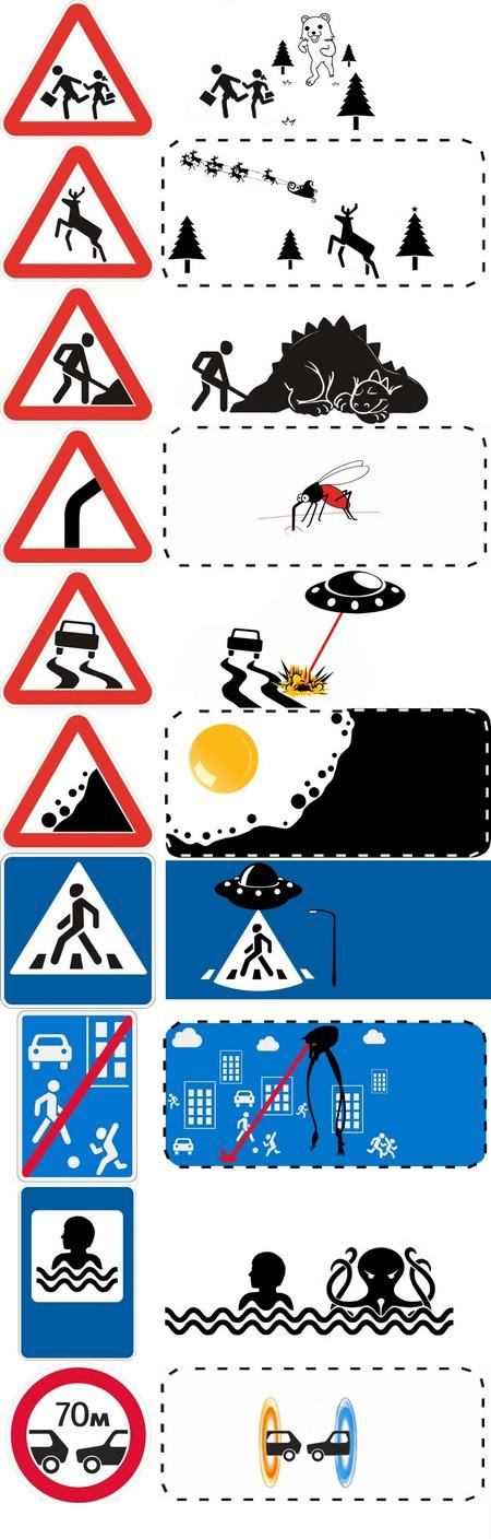 The true origins of traffic signs.