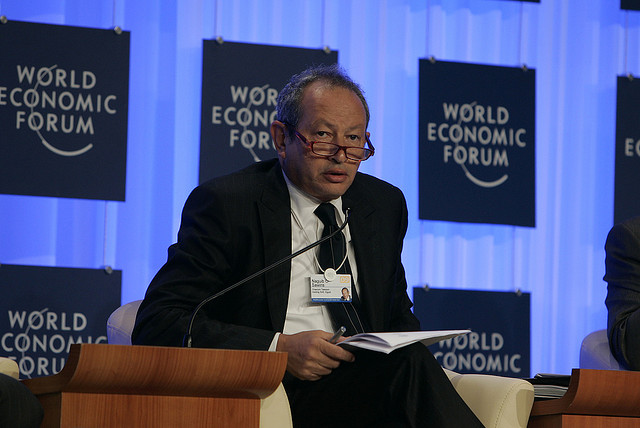Naguib Sawiris - World Economic Forum on the Middle East