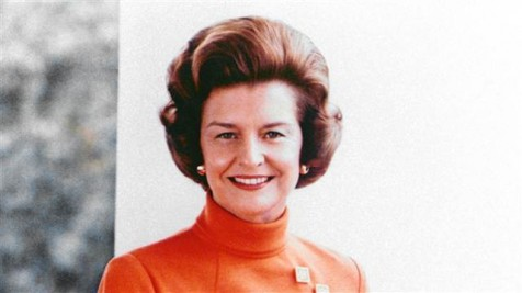Betty Ford in the White House. (AP)