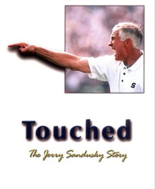 Touched by Jerry Sandusky, pictured, has been removed from Amazon's listings.