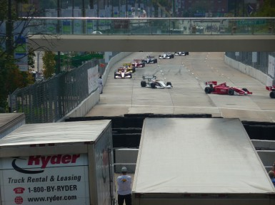 Race organizers say they did not expect to turn a profit during their first year and that all contractors will  be paid back eventually.  Image credit Baltimore CBS WJZ.
